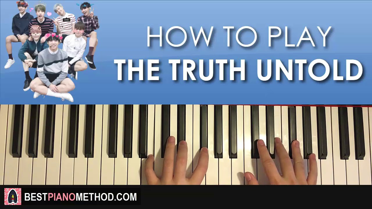 How to play bts on piano