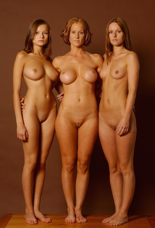 Granny mom and daughter nude