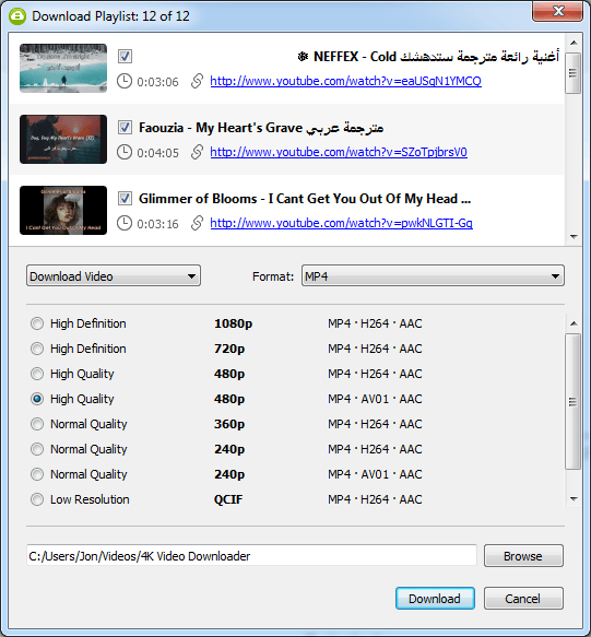 How to download music from youtube to my playlist